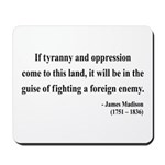 James Madison 2 Mousepad