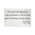 James Madison 2 Rectangle Magnet (10 pack)