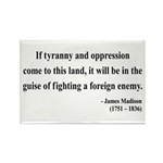 James Madison 2 Rectangle Magnet (100 pack)