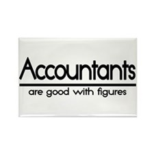 Accountant Joke Rectangle Magnet