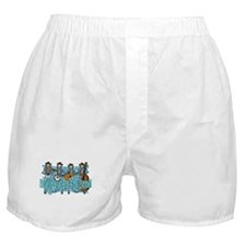 Bluegrass Skeletons Boxer Shorts