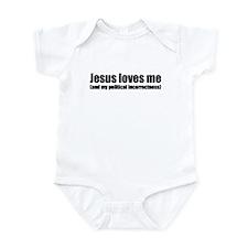 Funny Christian Infant Bodysuit
