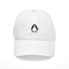 Beer Drinking Penguin Baseball Cap