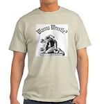 Wanna Wrestle Ash Grey T-Shirt
