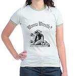 Wanna Wrestle Jr. Ringer T-Shirt