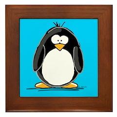 Penguin Framed Tile