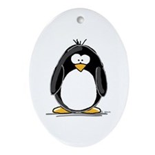Penguin Keepsake (Oval)