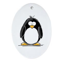 Penguin Keepsake (Oval)