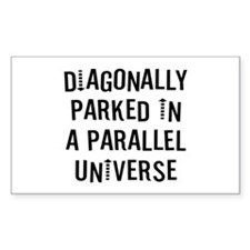 Diagonally Parked Bumper Stickers