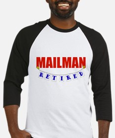 Retired Mailman Baseball Jersey