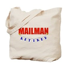 Retired Mailman Tote Bag