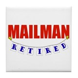 Mailman retirement Drink Coasters