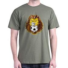 Lion Soccer @ eShirtLabs.Com T-Shirt