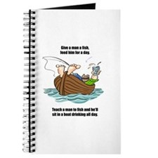 Give a Man a Fish Journal