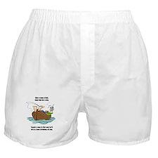 Give a Man a Fish Boxer Shorts