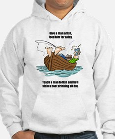 Give a Man a Fish Hoodie