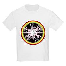 Creative Spark Rainbow Pentacle Kids T-Shirt