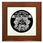 FBI Entry Team Framed Tile