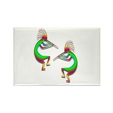 Two Kokopelli #88 Rectangle Magnet (10 pack)