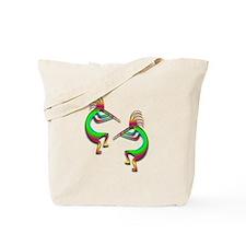 Two Kokopelli #88 Tote Bag