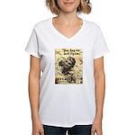 Savings Bonds & Stamps Women's V-Neck T-Shirt