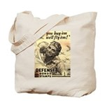 Savings Bonds & Stamps Tote Bag