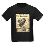 Savings Bonds & Stamps Kids Dark T-Shirt