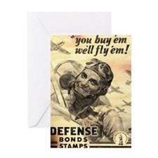 Savings Bonds & Stamps Greeting Card
