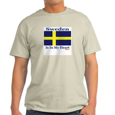 Sweden - Heart Light T-Shirt