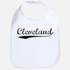 Vintage Cleveland (Black) Bib