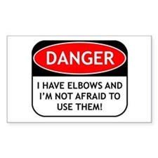 Use Elbows Rectangle Decal