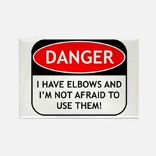 Use Elbows Rectangle Magnet