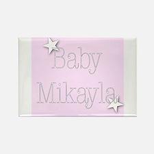 Cute Mikayla Rectangle Magnet