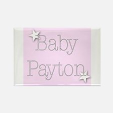 Cute Payton Rectangle Magnet