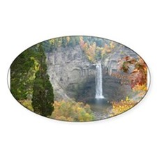 Taughannock Falls Oval Decal