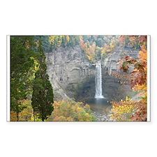 Taughannock Falls Rectangle Decal