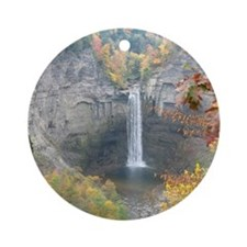Taughannock Falls Ornament (Round)