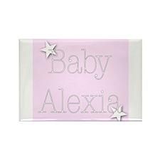 Alexia Rectangle Magnet