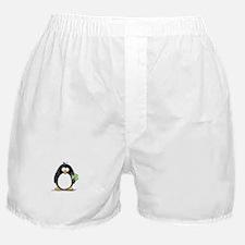 Shamrock Penguin Boxer Shorts