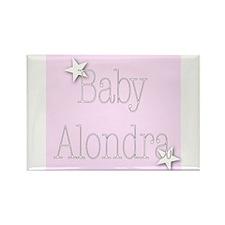 Cute Alondra Rectangle Magnet
