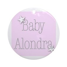 Cute Alondra Ornament (Round)