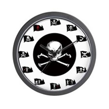 Pirate Flags- Jolly Roger Wall Clock