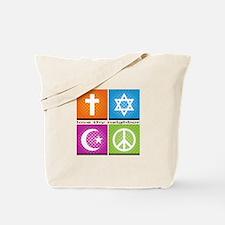 Love Thy Neighjbor Tote Bag