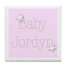 Cute Jordyn Tile Coaster