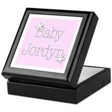 Cute Jordyn Keepsake Box