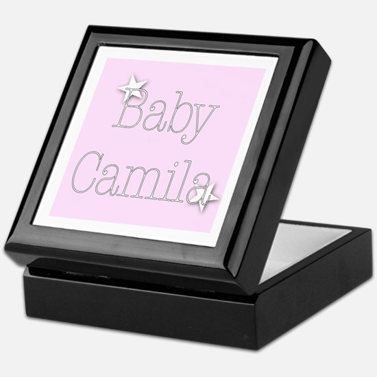 Cute Camila Keepsake Box