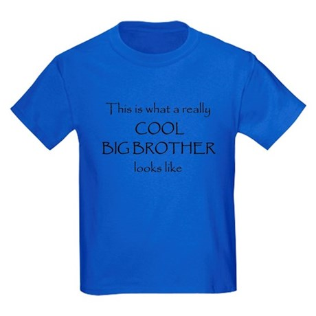 Cool big brother Kids Dark T-Shirt