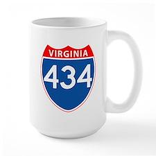 Area Code 434 Mug