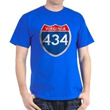 Area Code 434 T-Shirt