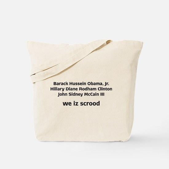 Presidental Election Tote Bag